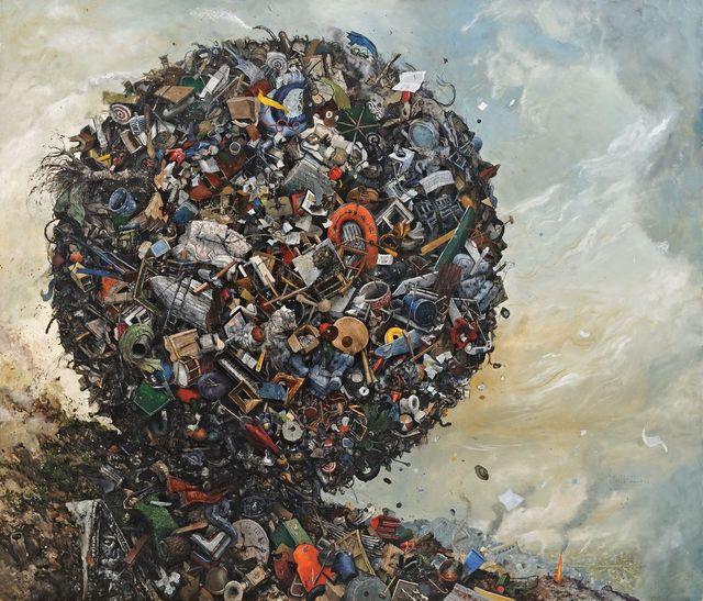 , 'Sic Transit Gloria Mundi,' 2013, Catharine Clark Gallery
