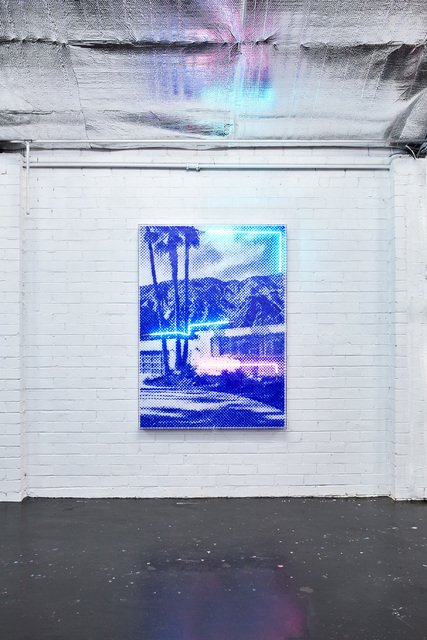 , 'Palm Shade Blues,' 2019, Axiom Contemporary