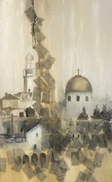 , 'The Old City,' , Beverly McNeil Gallery