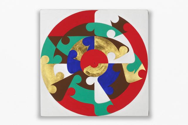 , 'Heráldico VIII,' 2013, kurimanzutto