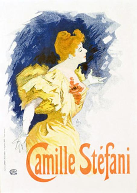 Jules Chéret, 'Camille Stefani', 1895-1900, Galerie d'Orsay