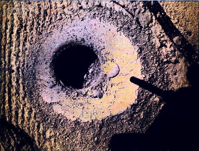, 'Hole, Sol 908 (Site 45, 450),' 2016, Kent Fine Art