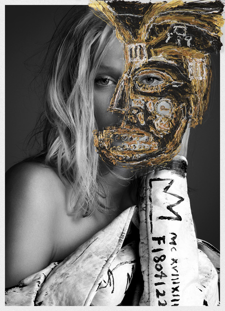 , 'I Will Make you a Star - Toni Garrn (Gold Edition),' 2015, RUDOLF BUDJA GALLERY