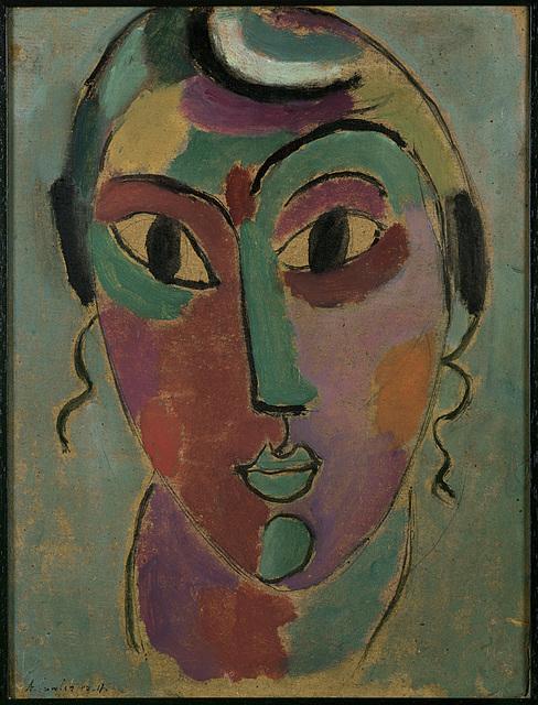 , 'Mystischer Kopf,' 1917, Ludorff