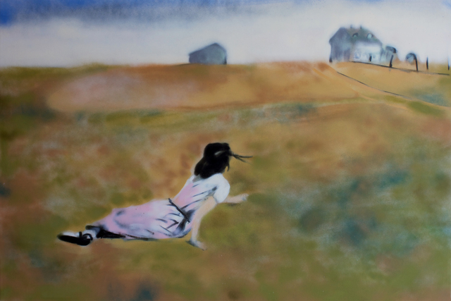 , 'Christina (After Andrew Wyeth),' 2017, Woodward Gallery