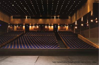 Teatro Camões (Lisboa, Portugal): Escenario Vista I, Proscenio y Platea, 2012