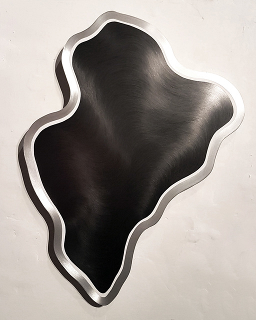 Julio Blancas, 'Untitled', 2016, Painting, Graphite on aluminium, Galería Artizar