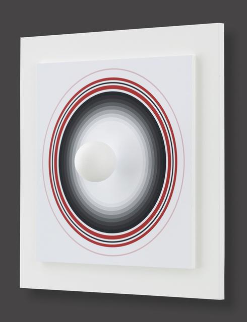 Antonio Asis, 'Asistype 1 - boule sur cercle', 2016, Print, Monotype, Kunzt Gallery
