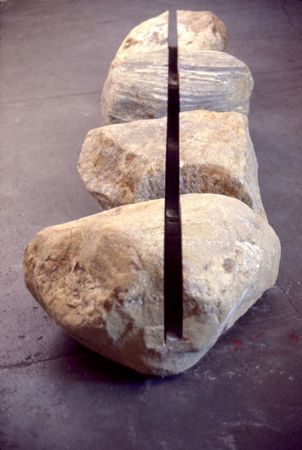 , 'Boulders Connected by Linear Void,' 1982, Karla Osorio Gallery