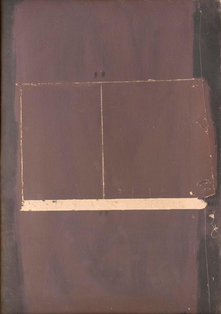 , 'Pintura damunt cartró rascat,' 1959, Galeria Marc Domenech