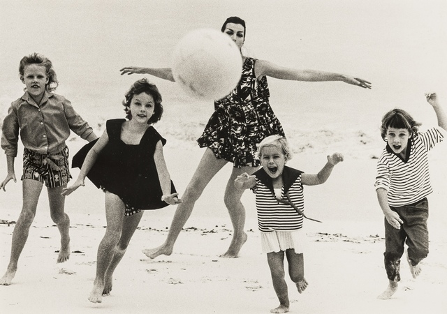 Norman Parkinson, 'At the Sea, A Collection of Four Photographs', circa 1950s, Forum Auctions