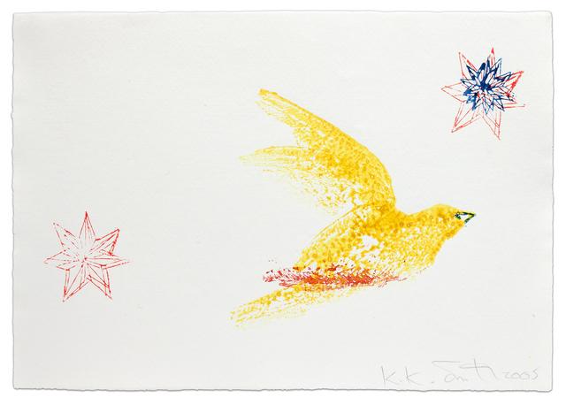 Kiki Smith, 'Bird and Stars', 2005, Krakow Witkin Gallery