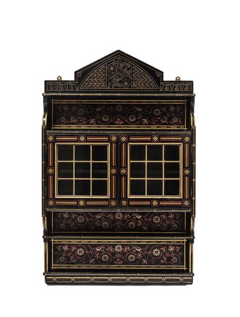 , 'Wall Cabinet,' 1874, Oscar Graf