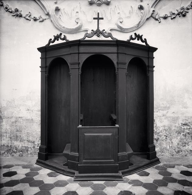Michael Kenna, 'Confessional, Study 6, Chiesa di Sant'Andrea, Reggio Emilia, Italy', 2008, Huxley-Parlour