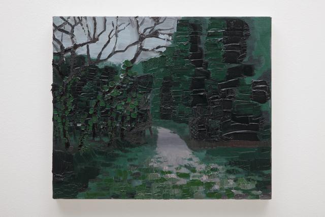 Rodrigo Andrade, 'Walking pass at the park', 2014, Galeria Millan