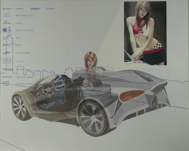 , 'Show Car,' 2013, William Art Salon