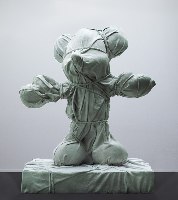 , 'Green Wrapped Animal,' 2019, Galerie Ron Mandos