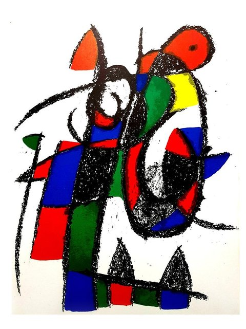Joan Miró, 'Original Abstract Lithograph', 1975, Galerie Philia