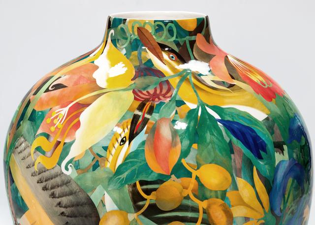 John Newdigate, 'Indigenous Birds Eating Exotic Fruit', 2019-2020, Design/Decorative Art, Hand Painted, Glazed Porcelain, EBONY/CURATED