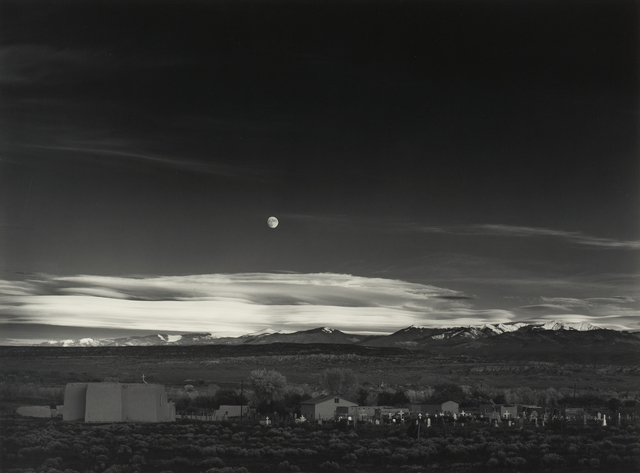 , 'Moonrise, Hernandez, New Mexico,' 1941, Princeton University Art Museum