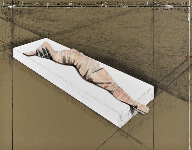 Christo and Jeanne-Claude, 'Wrapped Woman', 1996, Gallery HAAS & GSCHWANDTNER