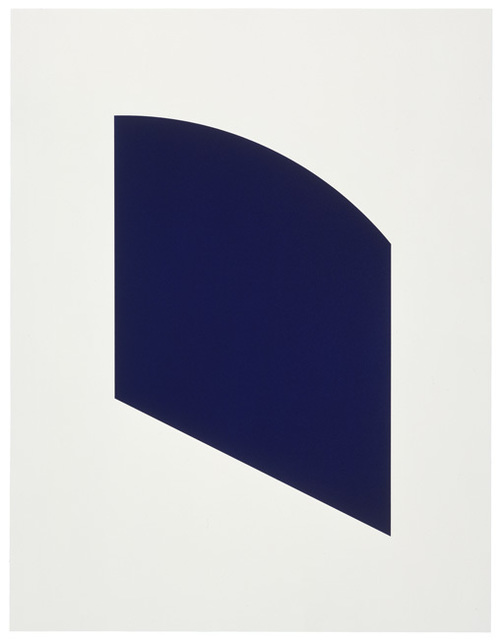 Ellsworth Kelly, 'Dark Purple', 2003, Gemini G.E.L. at Joni Moisant Weyl