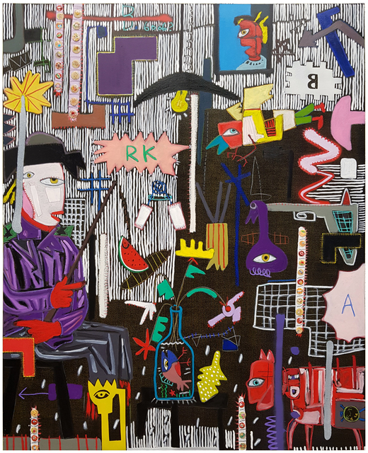 , 'Black Sereis   A conversation in the dark,' 2018, Crossing Art