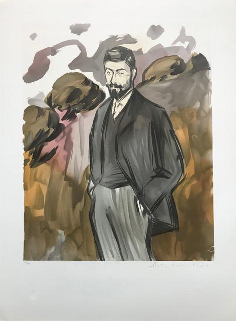 Pablo Picasso, 'PORTRAIT D'UN HOMME DEBOUT AVEC BARBICNE', 1979-1982, Reproduction, LITHOGRAPH ON ARCHES PAPER, Gallery Art