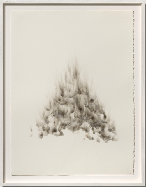 Joan Wulf, 'Shadow 4', 2019, Painting, Carbon soot on paper, Themes+Projects