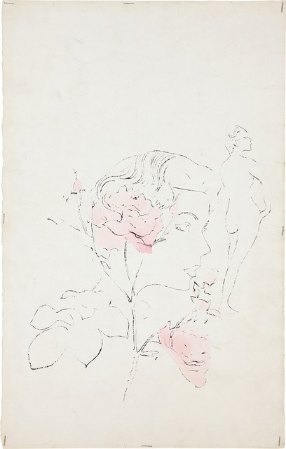 Andy Warhol, 'Women and Flowers', ca. 1957, Phillips