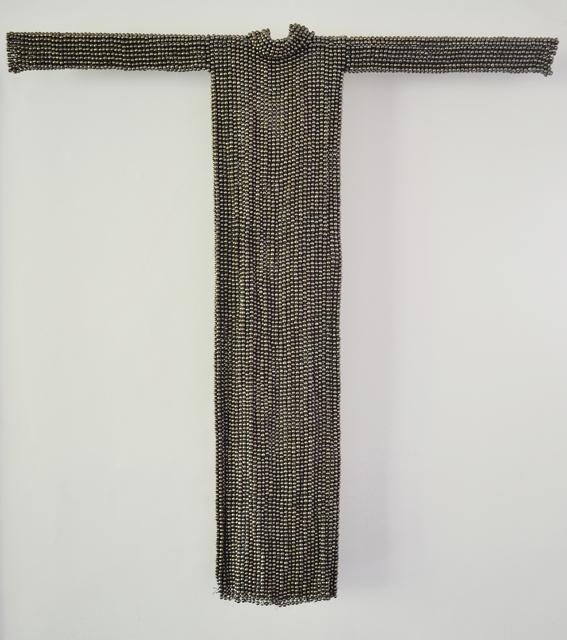 Xawery Wolski, 'Vestido de Platino (Platinum Dress)', 2015, Sculpture, Terracotta, platinum glaze, Lisa Sette Gallery