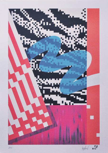 Krayon, 'White Tiger', 2018, Print, Print on Fine Art Paper, Collezionando Gallery