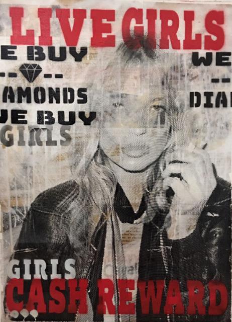 , 'Live Girls - Cash Reward ,' 2017, Maddox Gallery