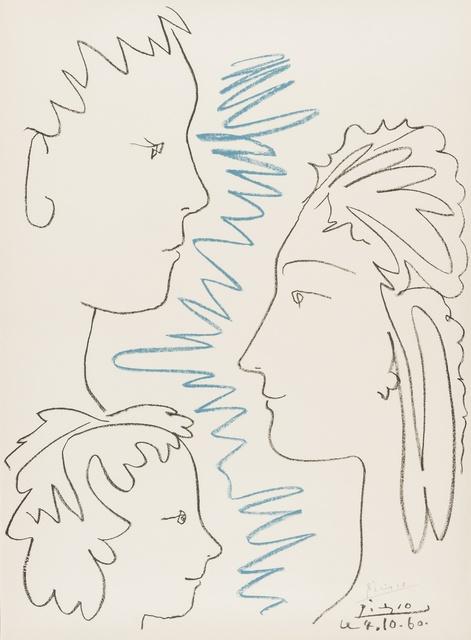 Pablo Picasso, 'Arte et Solidartite (Czwiklitzer 197)', 1960, Forum Auctions