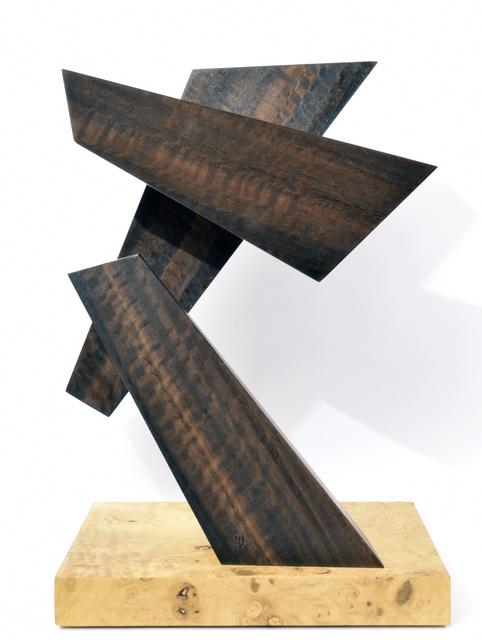 , 'Three Blocks of Wood,' 2017, International Sculpture Center