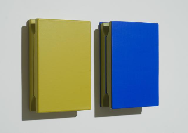Árpád Forgó, 'Yellow and blue sandwich', 2014, VILTIN Gallery