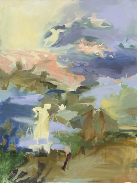 Iwalani Kaluhiokalani, 'Zones Of Interdeterminacy', 2020, Painting, Oil on canvas, Galatea Fine Art