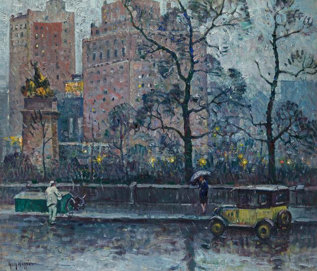 , 'Rainy Weather, New York,' 1927, Questroyal Fine Art
