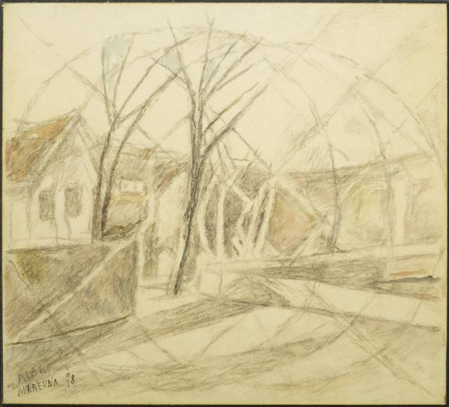 Marie Vorobieff Marevna, 'Marika and Marevna's home in Ealing', 1978, Roseberys