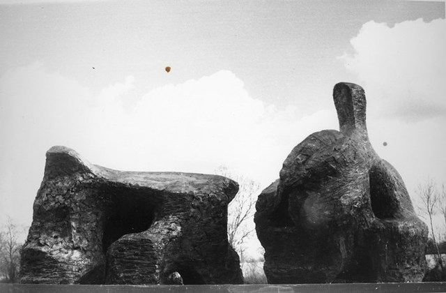 , 'Two Piece Reclining Figure No.2,' 1960, Grob Gallery
