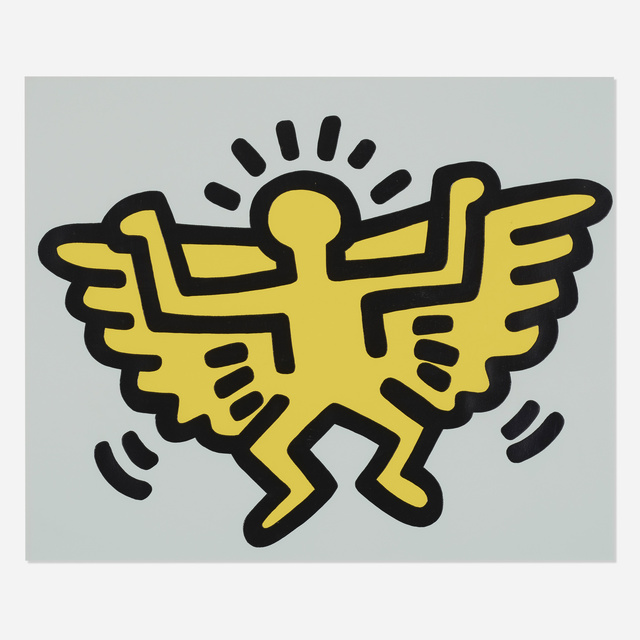 Keith Haring, 'Plate 4 (from Icons portfolio)', 1990, Wright