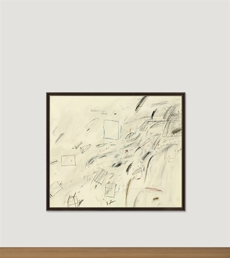 Cy Twombly, 'Untitled', Christie's