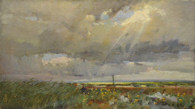 Aleksandr Nikiforovich Chervonenko, 'Road', 1968, Surikov Foundation