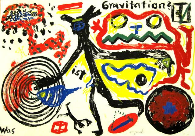 A.R. Penck, 'Was ist Gravitation ', 1984 , Galerie Fahnemann
