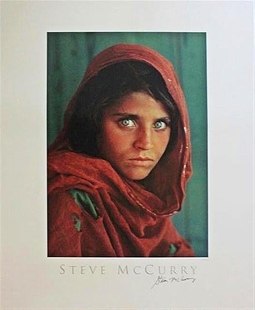 , 'Sharbat Gula, Afghan Girl, Pakistan Poster (Hand Signed) ,' 1984, Alpha 137 Gallery