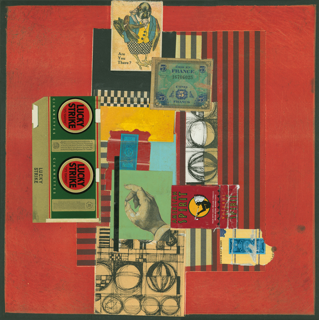 Tony Askew, 'Lucky Strike', Drawing, Collage or other Work on Paper, Mixed Media, Tufenkian Fine Arts