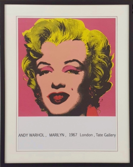 Andy Warhol, 'Marilyn Monroe From Tate Gallery', 1980, Print, Paper, London Westbank