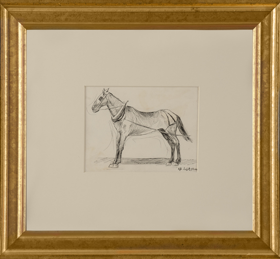 , 'Working Horse,' 1900, Thurston Royce Gallery of Fine Art, LTD.