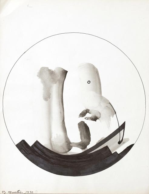 Eugene James Martin, 'Untitled', 1970, Drawing, Collage or other Work on Paper, Ink drawing, Eugene Martin Estate