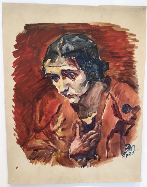 , 'Portrait of a Woman,' 1921, Alice Adam Ltd.
